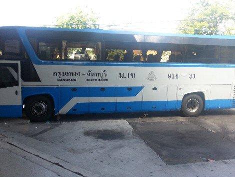 Bangkok to Chanthaburi Bus