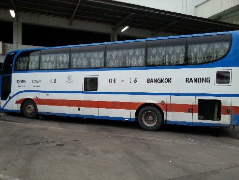 Bangkok to Ranong Bus