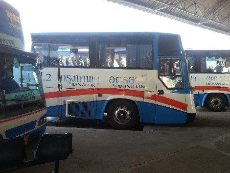 Bangkok to Udon Thani Bus