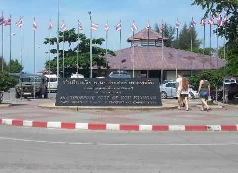 Koh Phangan Ferry Port