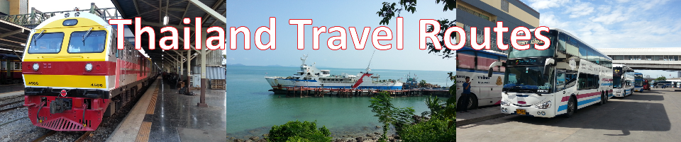 Thailand Travel Routes