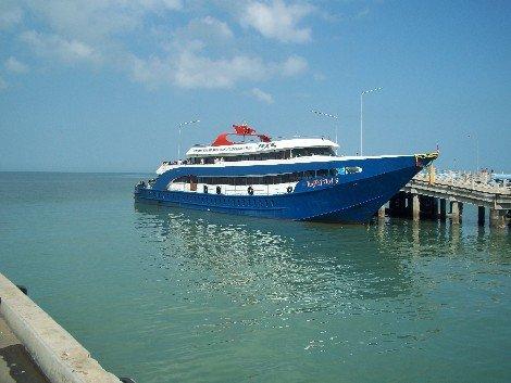Songserm Ferry to Koh Tao