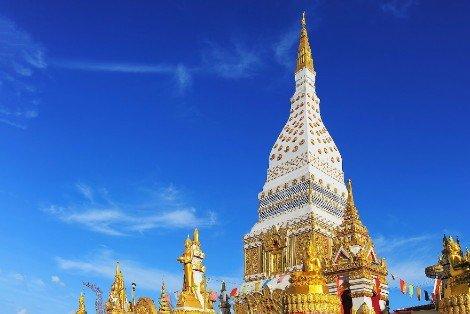 Wat Maha That in Nakhon Phanom