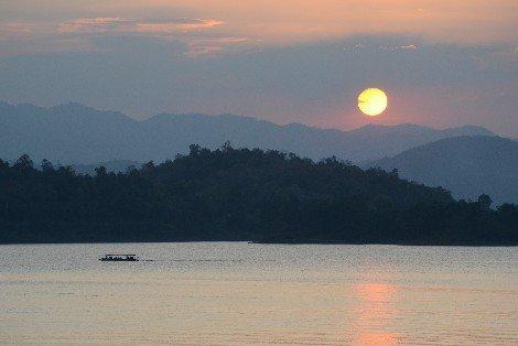Kaeng Kra Chan lake in Phetchaburi