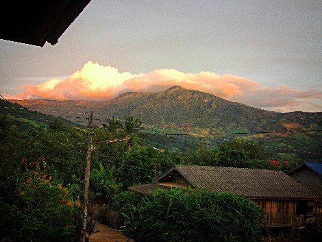 Mountains of Phayao Province