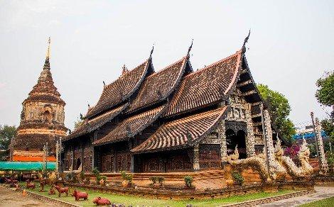 Wat Lok Moli in Chiang Mai