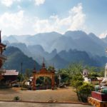 Buddhist temple in Vang Vieng