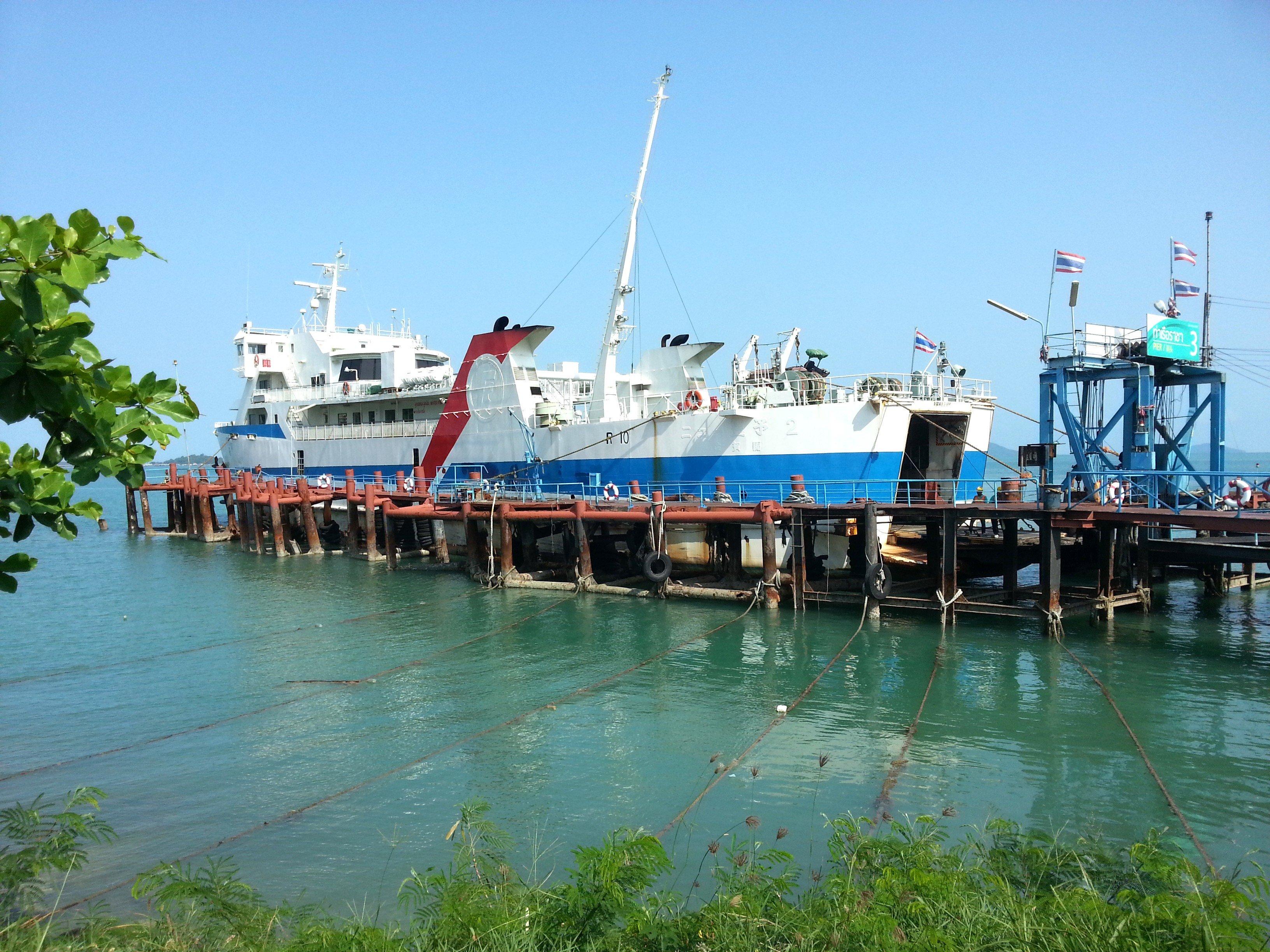 Donsak Raja Ferry Port