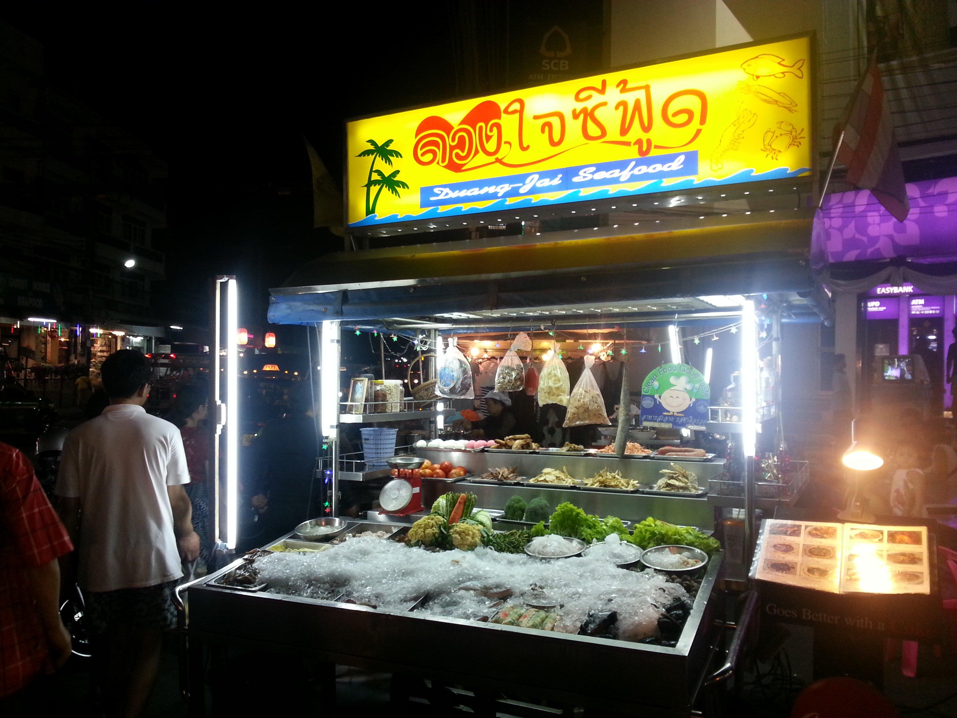 Seafood at Hua Hin Night Market
