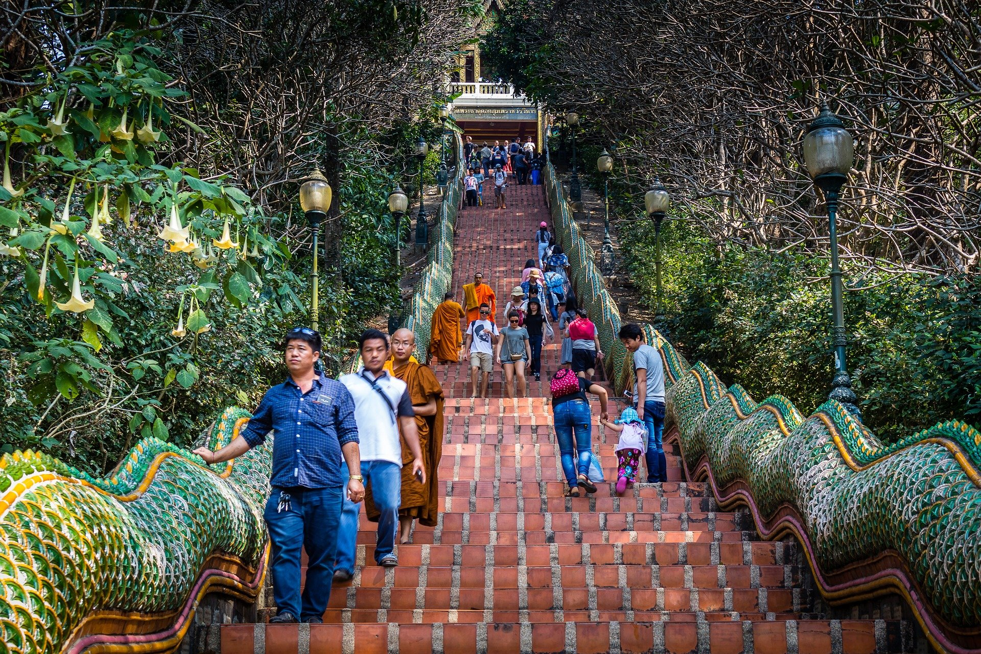 Wat Doi Suthep in Chiang Mai