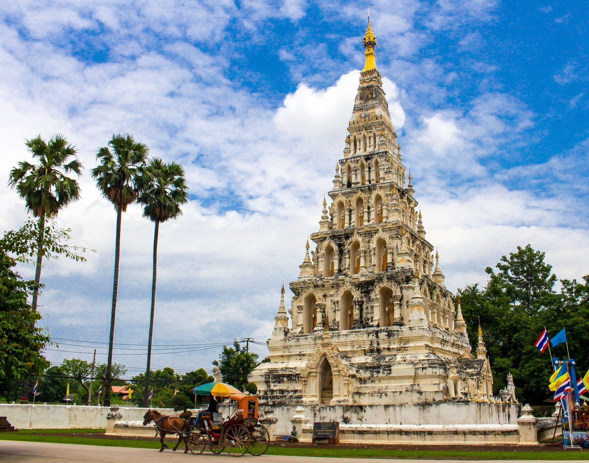 Wat Chedi Liam in Chiang Mai