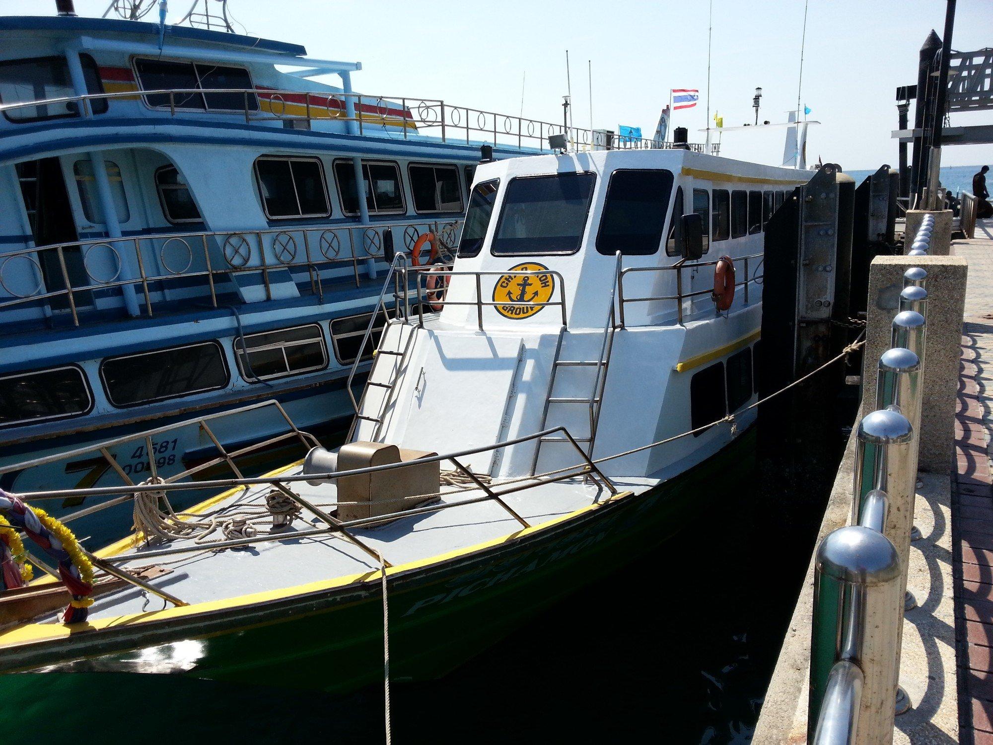 Chaokoh Ferry docked at Koh Phi Phi