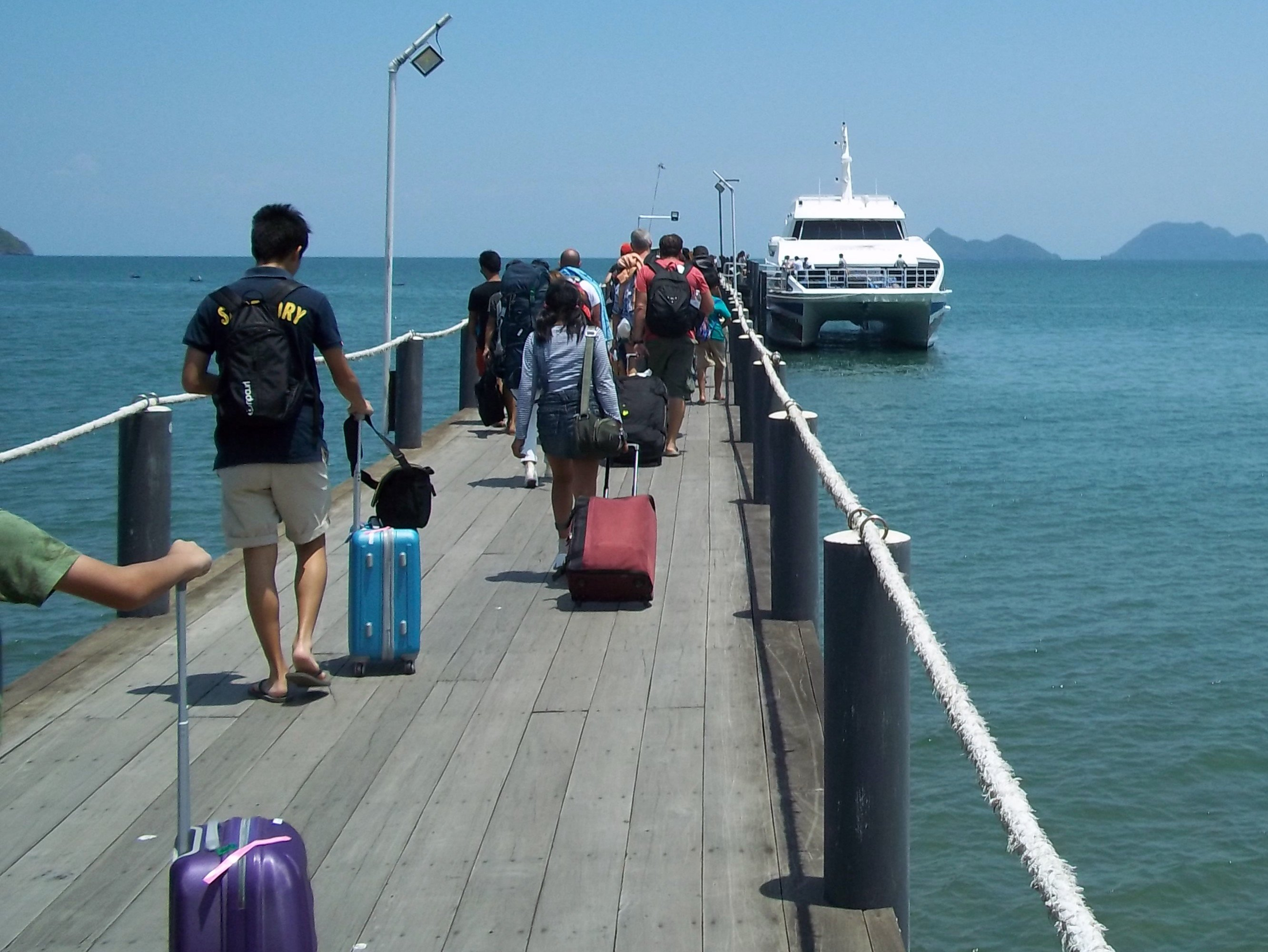 Lomprayah Ferry from Chumphon to Koh Tao