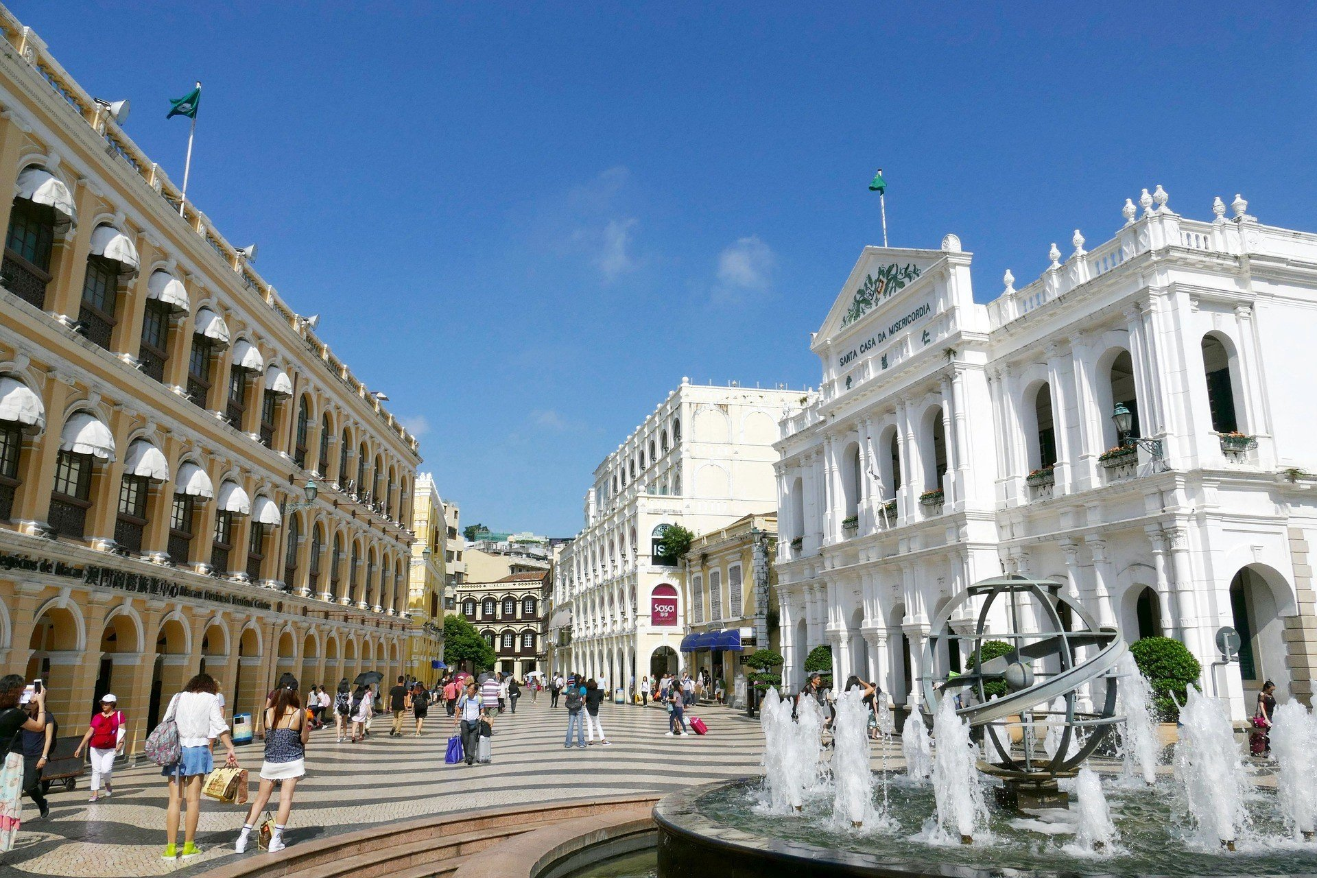 Historic city centre in Macau