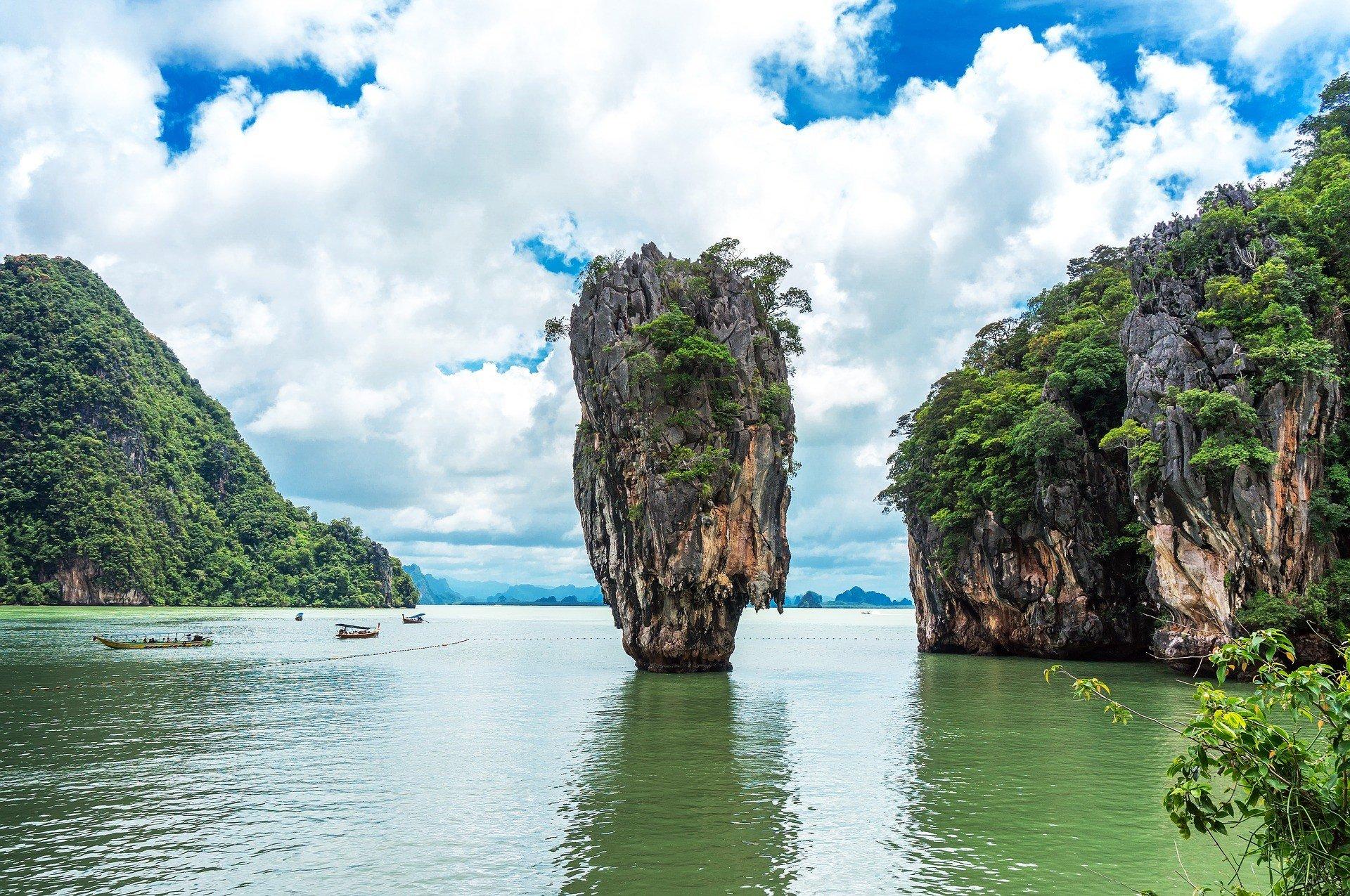Phang Nga Bay in Thailand