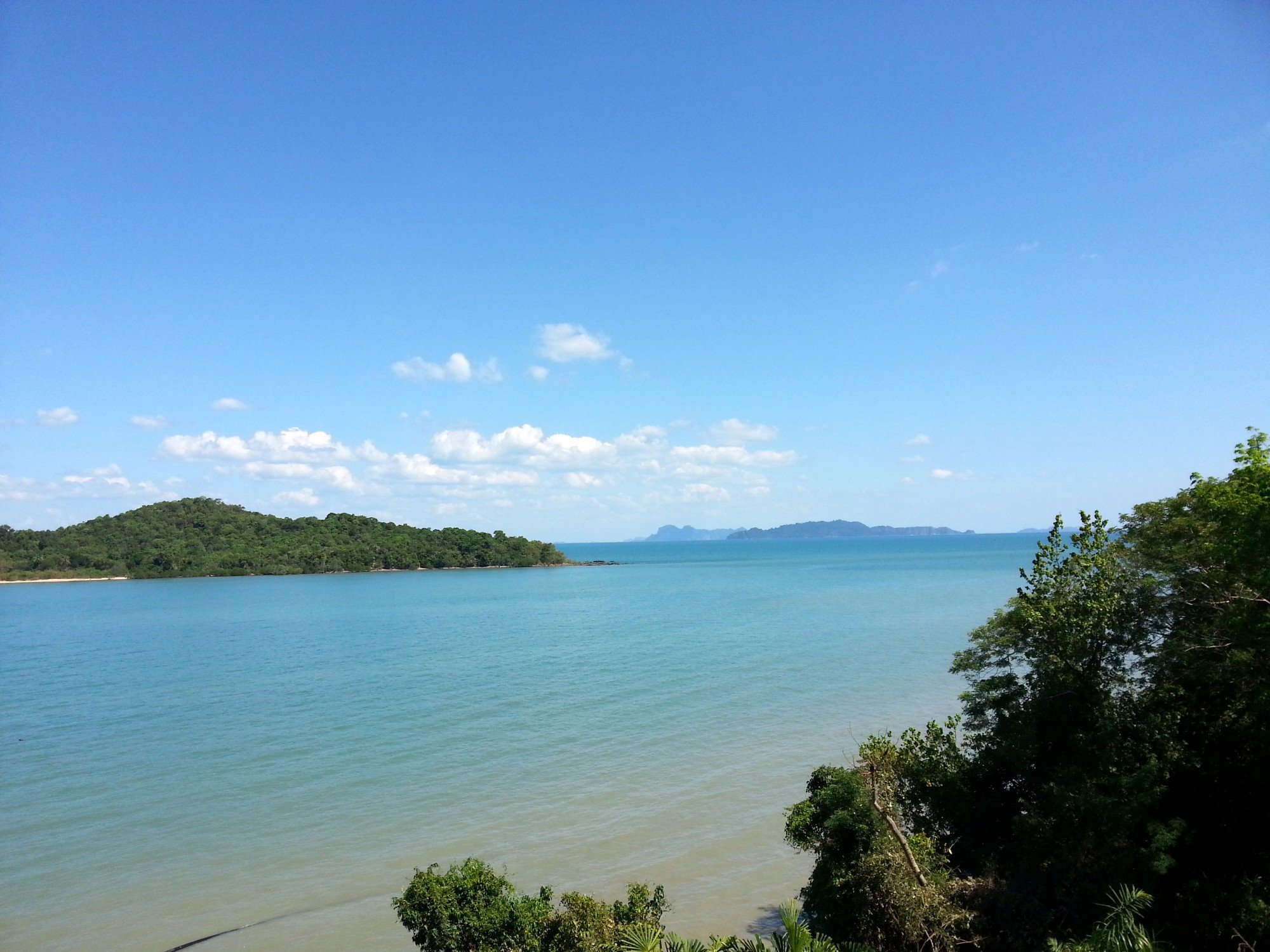 View from the east coast of Koh Lanta