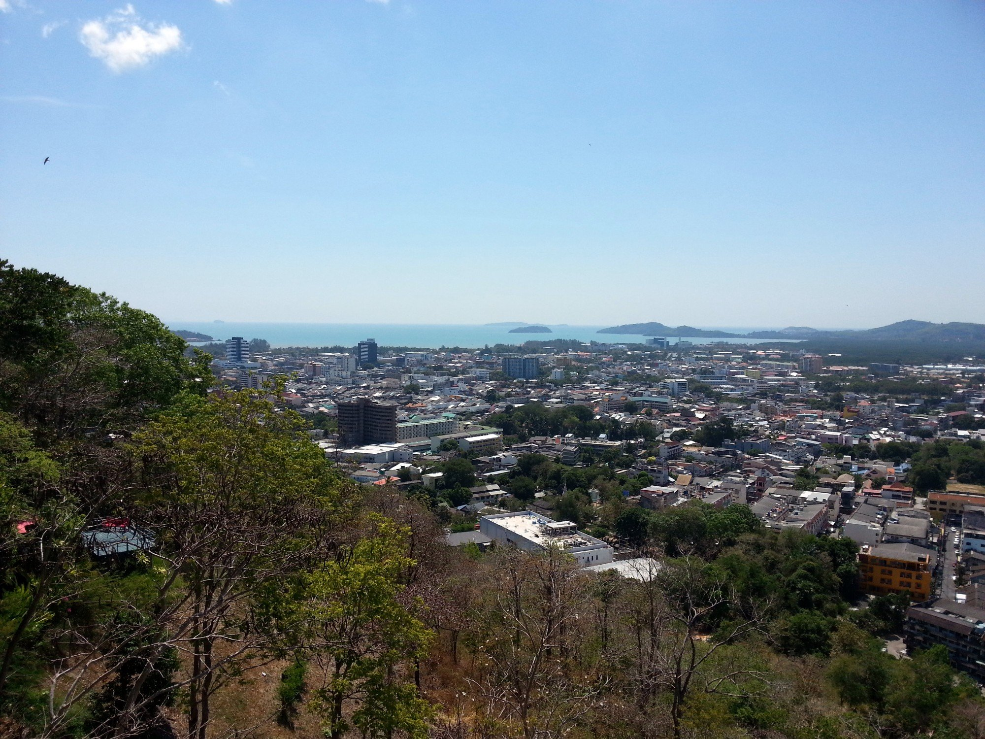 View from Rang Hill in Phuket