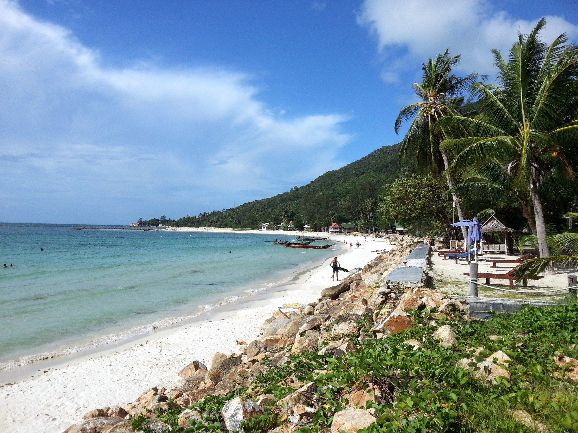 Chalokulum Beach in Koh Phangan