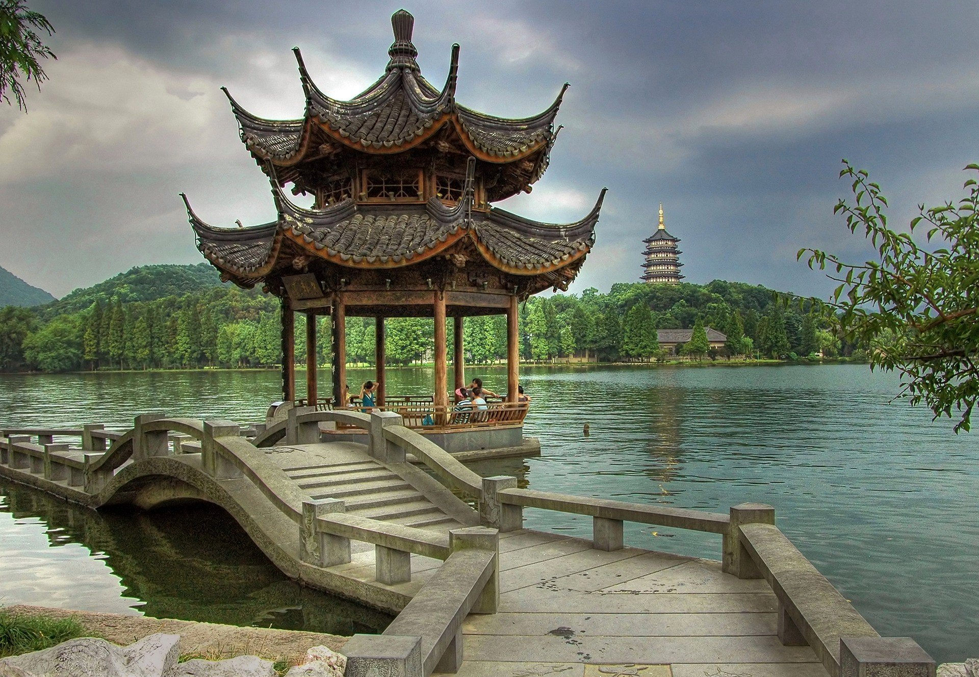 Hangzhou West Lake in Zhejiang