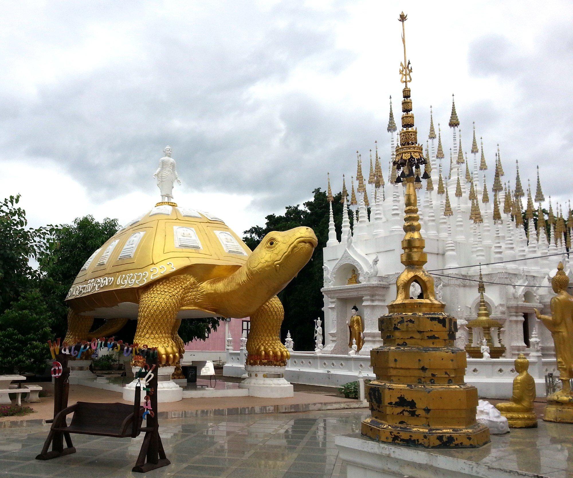 Wat Phong Sunan in Phrae